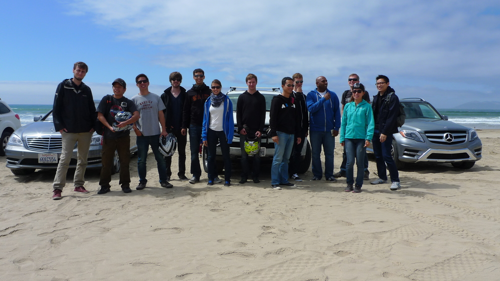 Team ATV outing to hit the sand dunes at Pismo Beach.