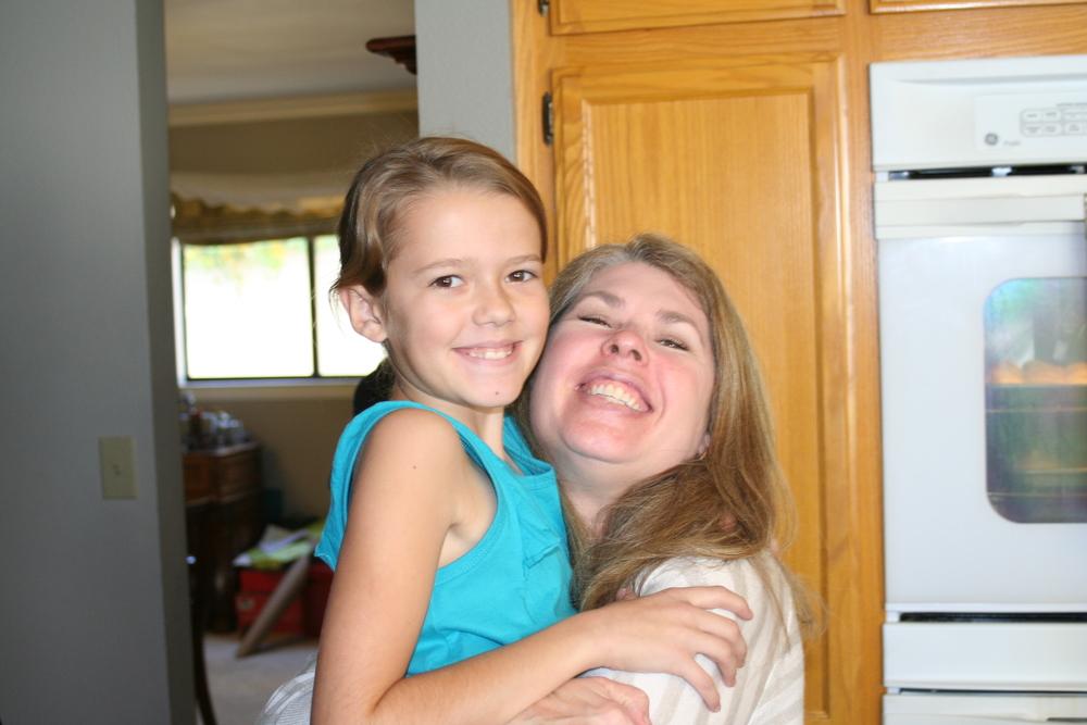 Jen with niece Emmy