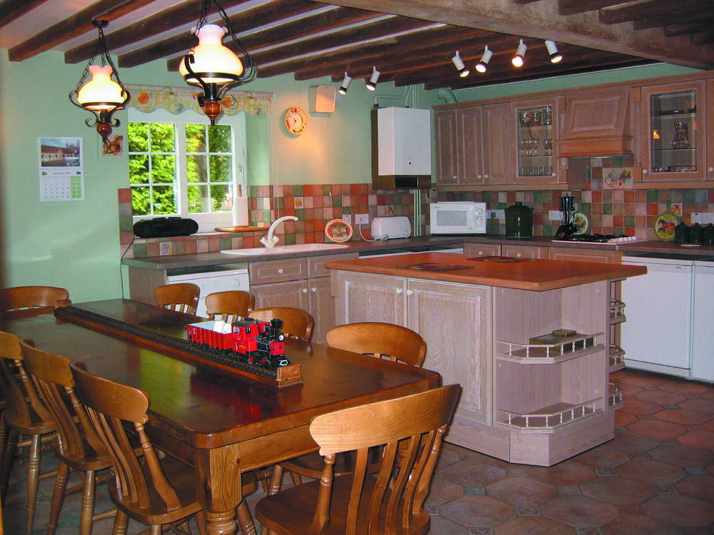 Corner House kitchen