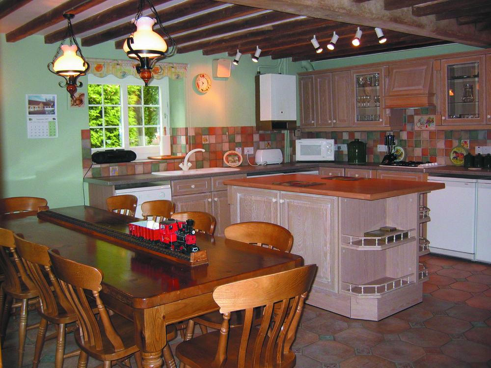Corner House kitchen