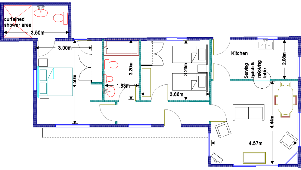 Mary's Cottage floorplan