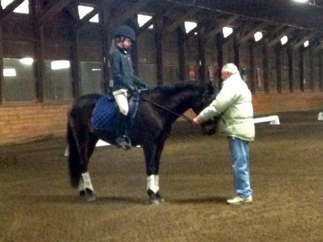 Gunnar and Jr Rider Megan Peterson