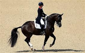 OLYMPIC GOLD MEDALIST CHARLOTTE DUJARDIN and VALEGRO