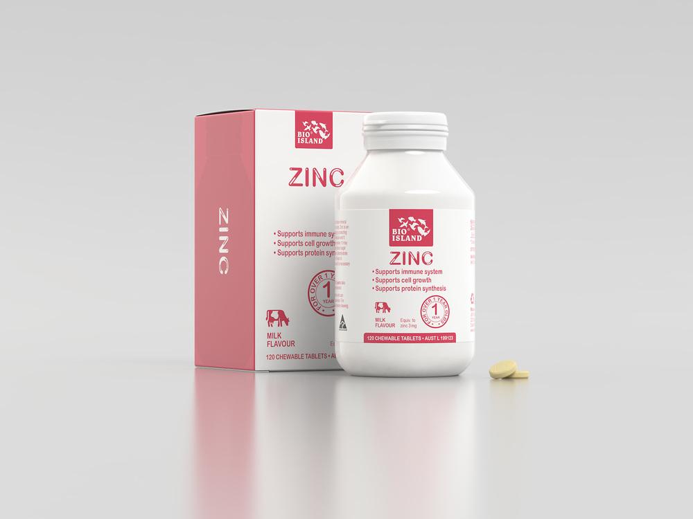 Zinc joins the range.