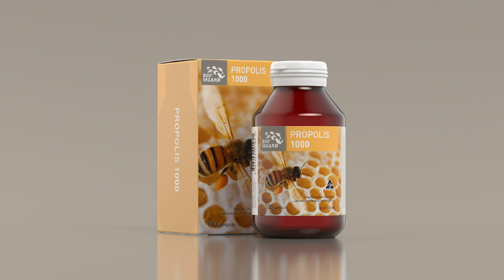 Bio Island Propolis Vitamin Packaging