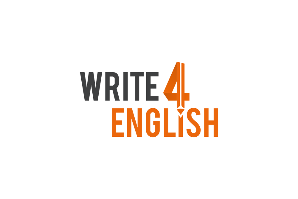 Write 4 English Logo