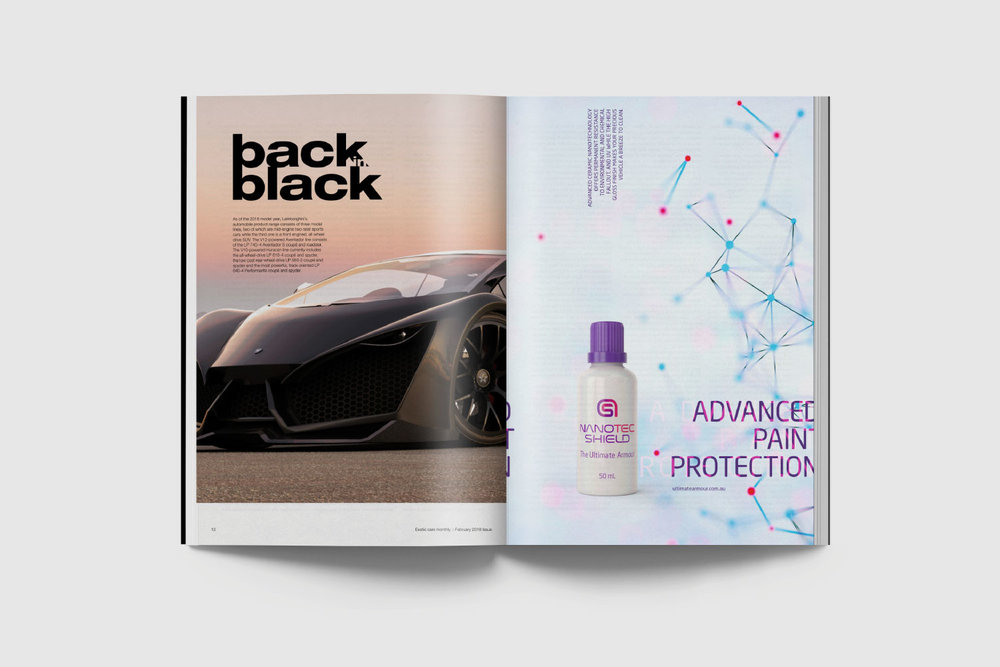Magazine advertisement.