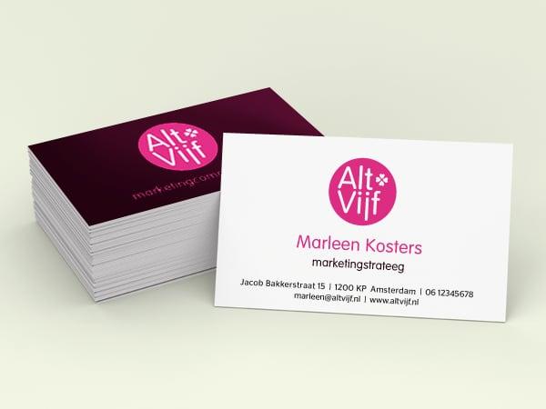Logo's, visitekaartjes, briefpapier en meer