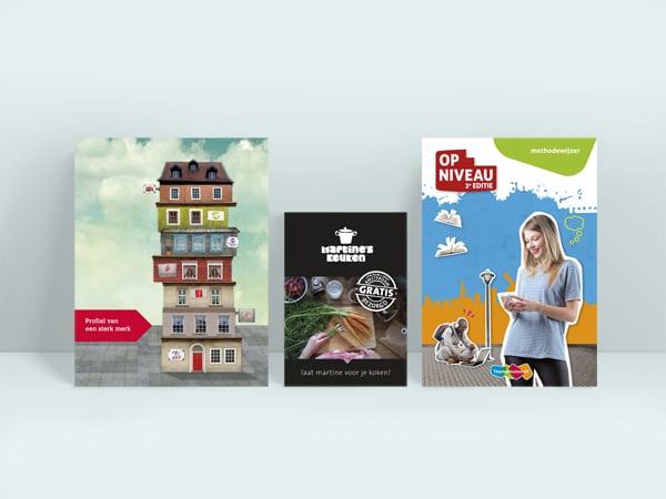 Folders, flyers en brochures
