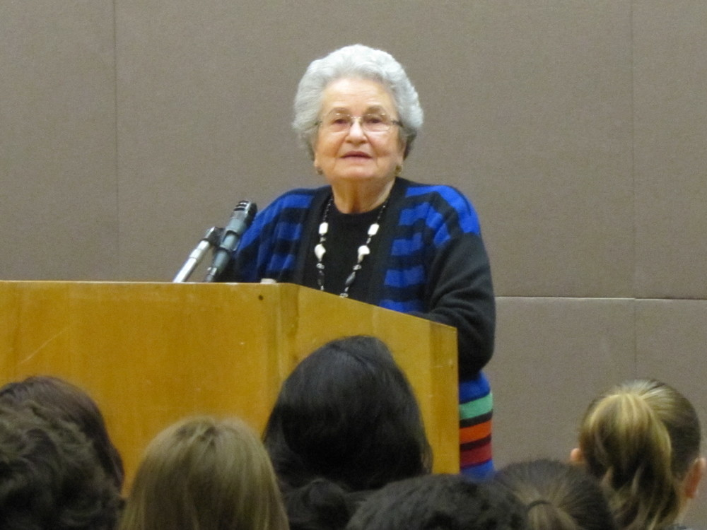 Anna Weisz Rado shares her story about her Holocaust experience.