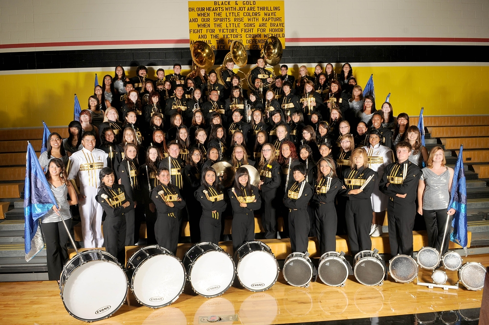 2012 Lytle Pirate Band
