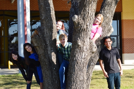 Class of 2016 officers for the 2012-2013 school year!  (Left to Right:) Vanessa Estrada - Treasurer; Lauryn Castro - Fundraising Chair; Kayla Ossinger - Fundraising Chair; Matthew Koehl - President; Macy Smith - Secretary; Gabino Olalde - Vice President