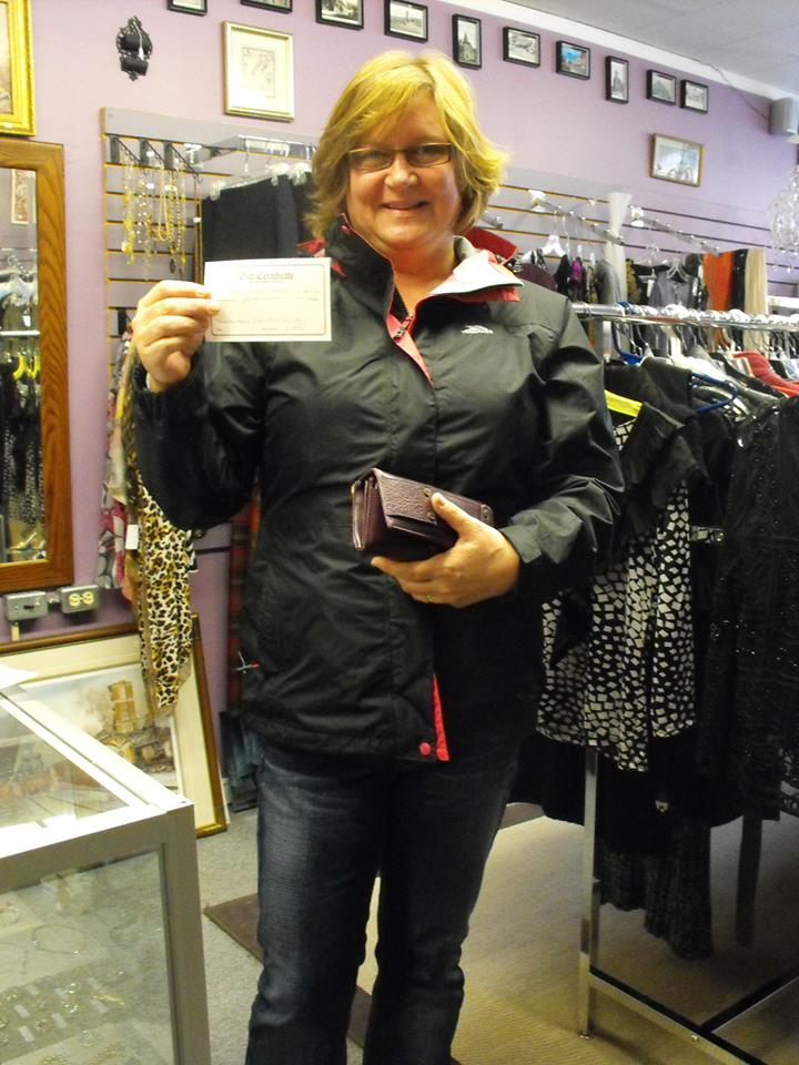 Congratulations to Denise Dykstra! She won a $50 Gift Certificate from Charlie's Variety.