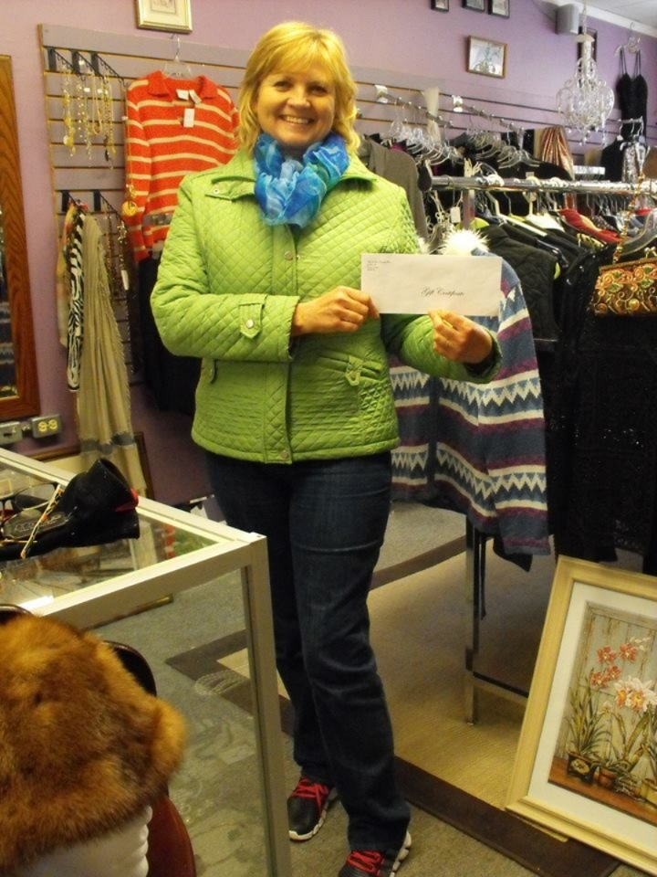 Congratulations to Karen Piett on her WIN of a $50 Gift Certificate from Made in Huron Crafts and More!