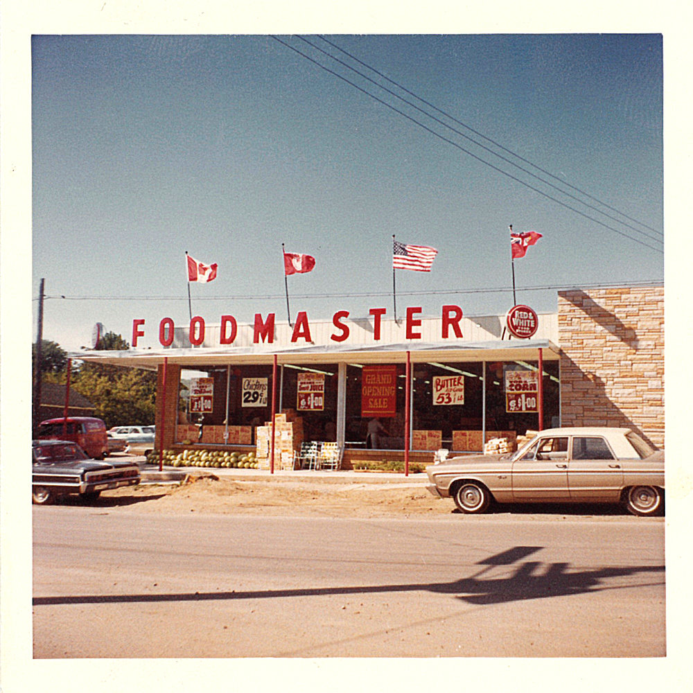 Grand Opening of Foodmaster in 1962
