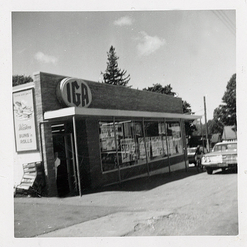 IGA when it was built 1964