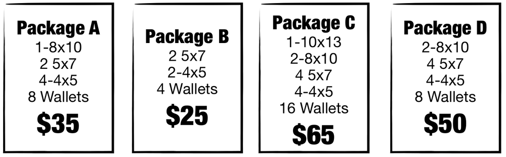 And many more package options and add-ons are available!
