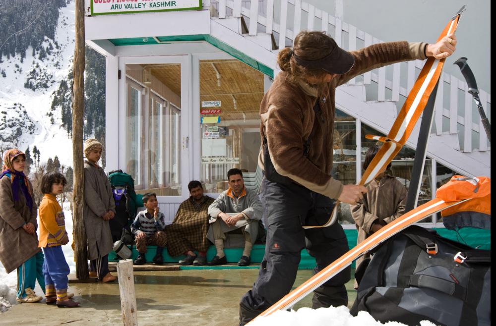 Ptor Spricenieks, Kashmir, India
