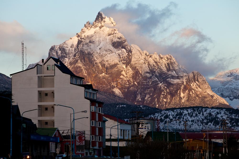 El fin del Mundo. Ushuaia.