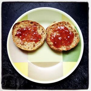 'Morning Muffin Smile' ©2012 Jim Baab