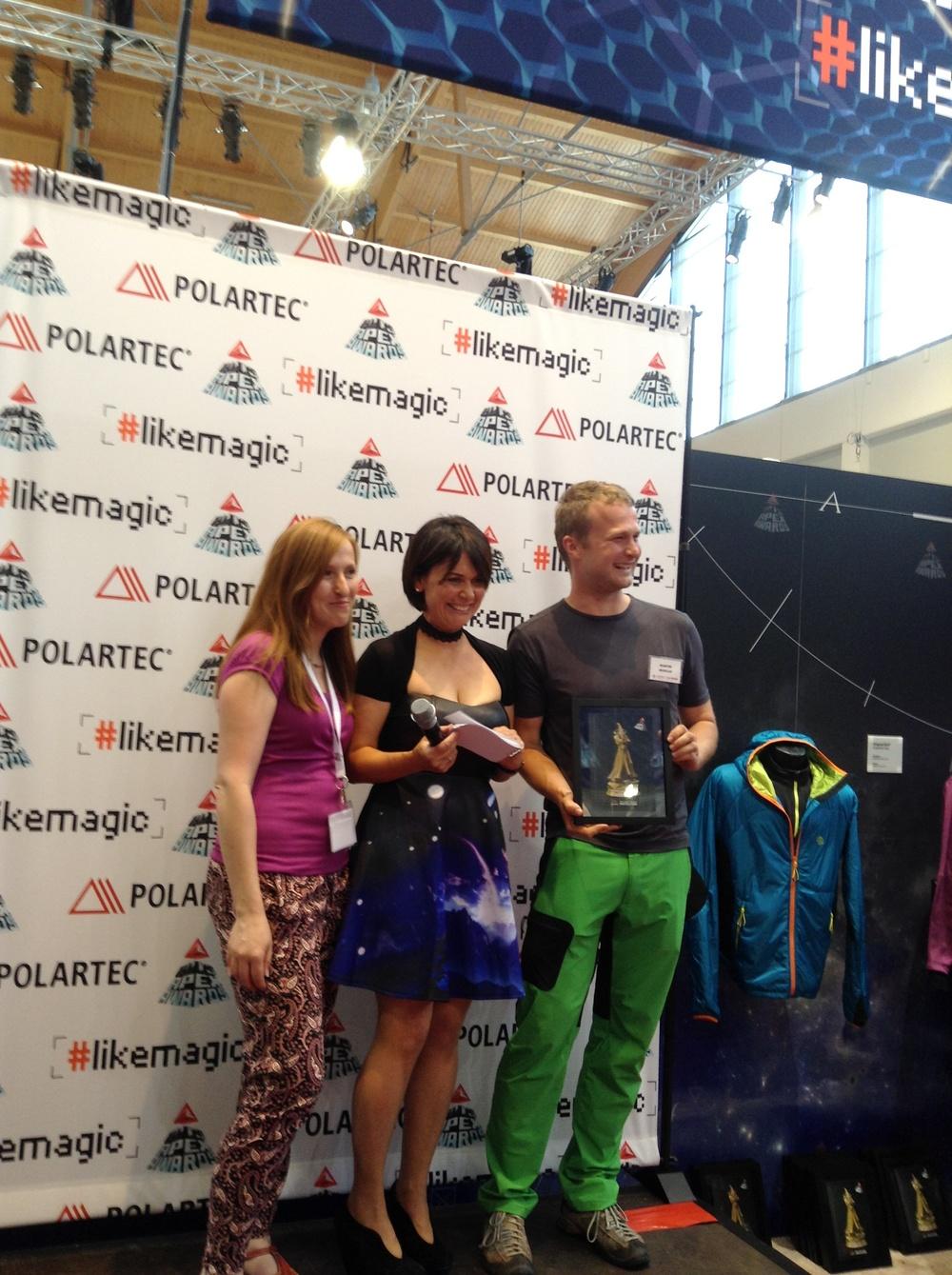 Polartec APEX Awards at OutDoor 2013