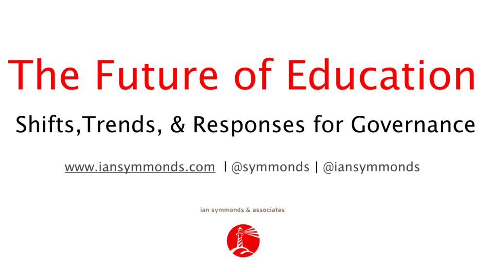The Role Of Independent Educational >> The Future Of Education Ian Symmonds Associates