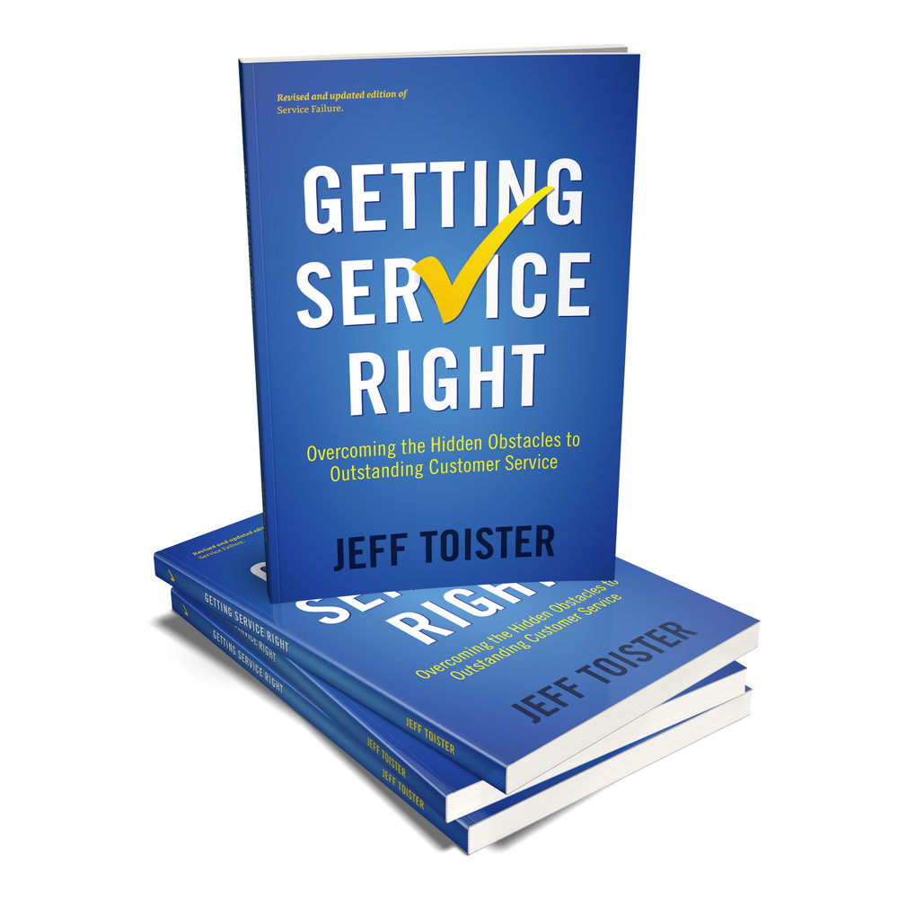 Cover image of the  Getting Service Right  book.