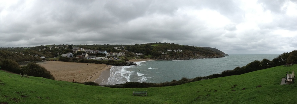 Looking over Aberporth