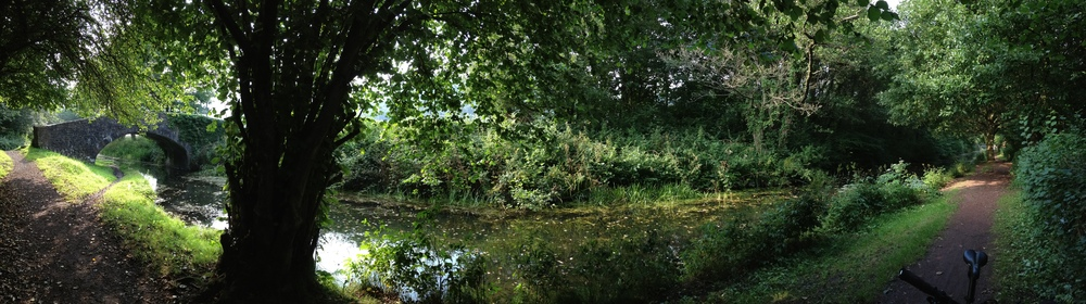 Neath Canal between Resolven and Glynneath