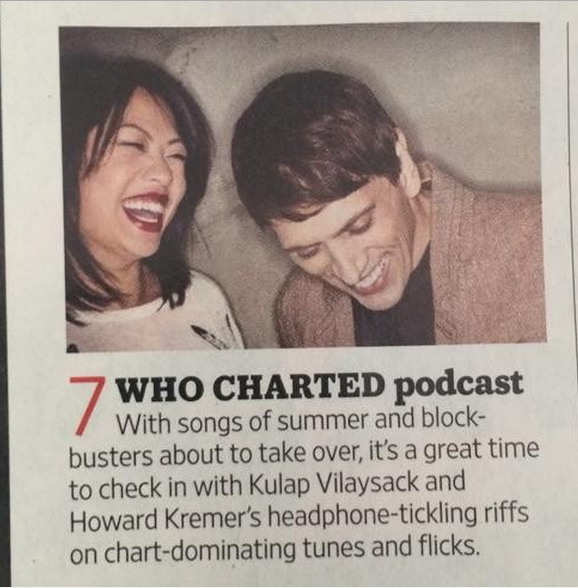 WC on the EW Charts!