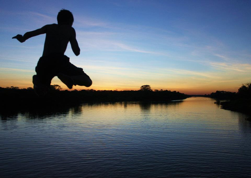 Early Evening on the Ucayali River - Photo by Shannon Wynne