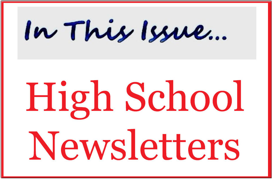 High School Ministry Newsletters