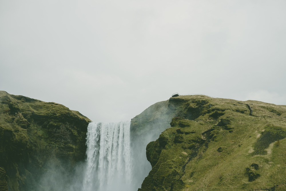 Skógafoss, Iceland, photo by me.