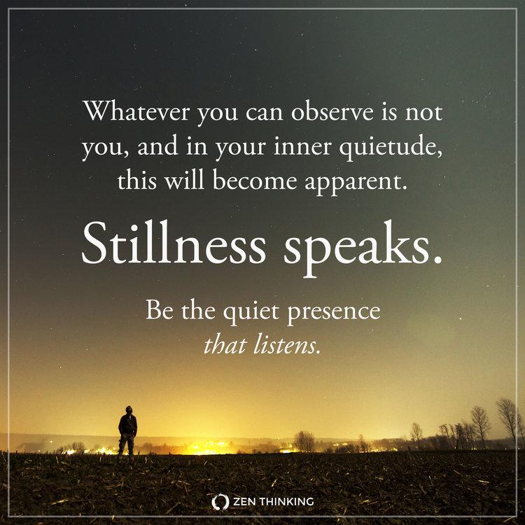 Image result for eckhart tolle quotes stillness speaks