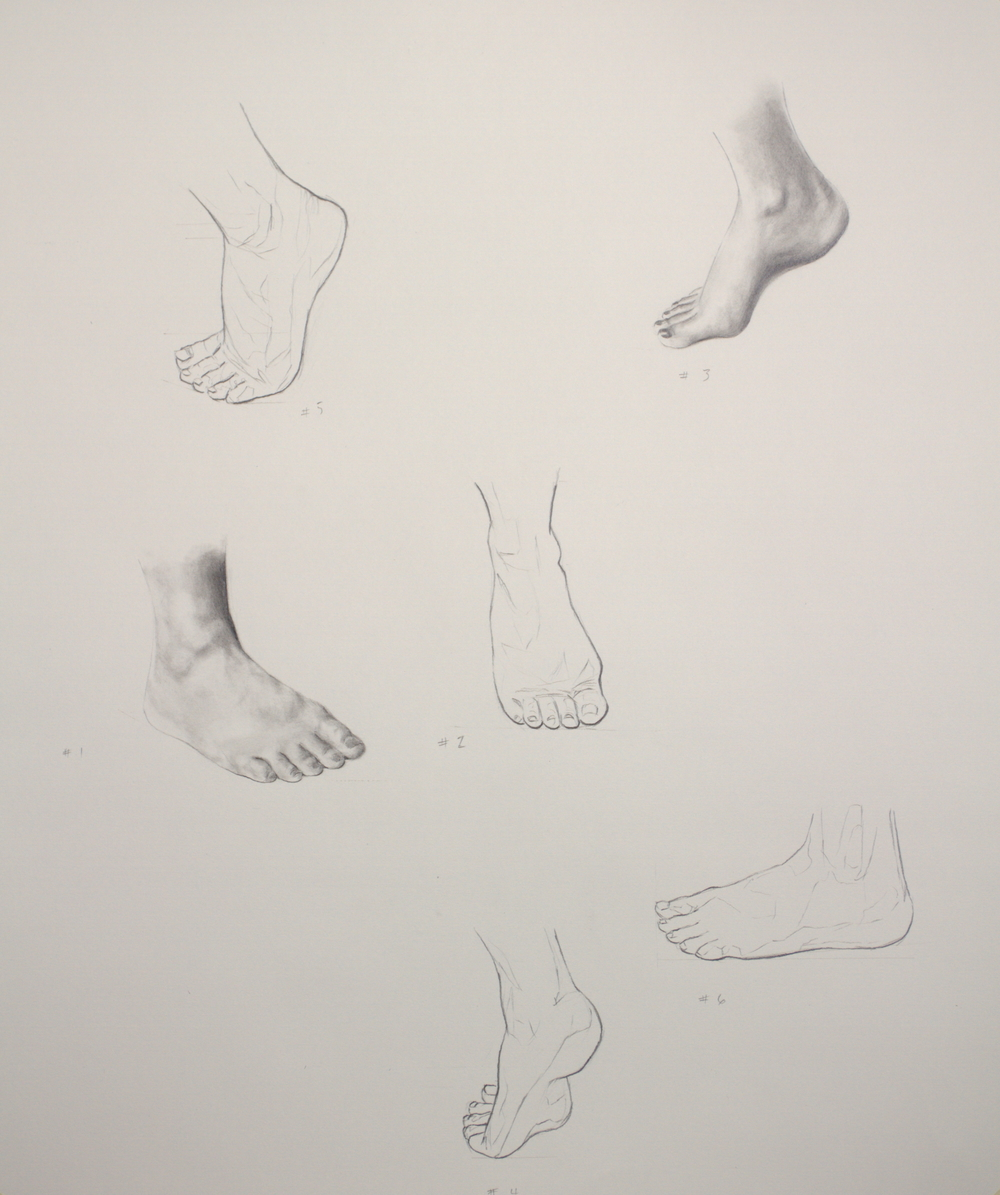 "24"" x 18"", Graphite on Strathmore 400 paper"