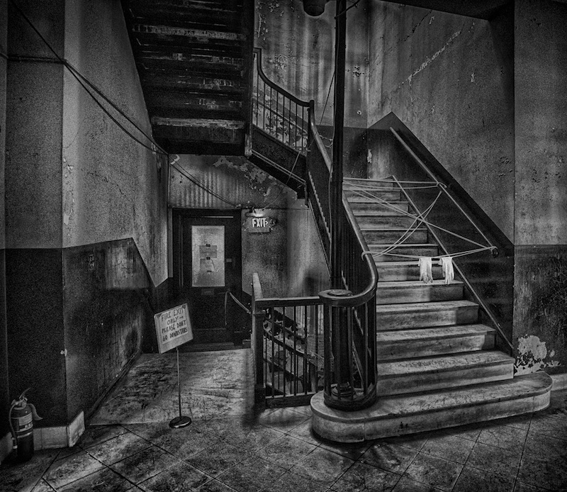 by Gary Reed title: Stairway