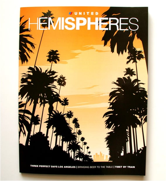 United Airlines' Hemispheres Magazine