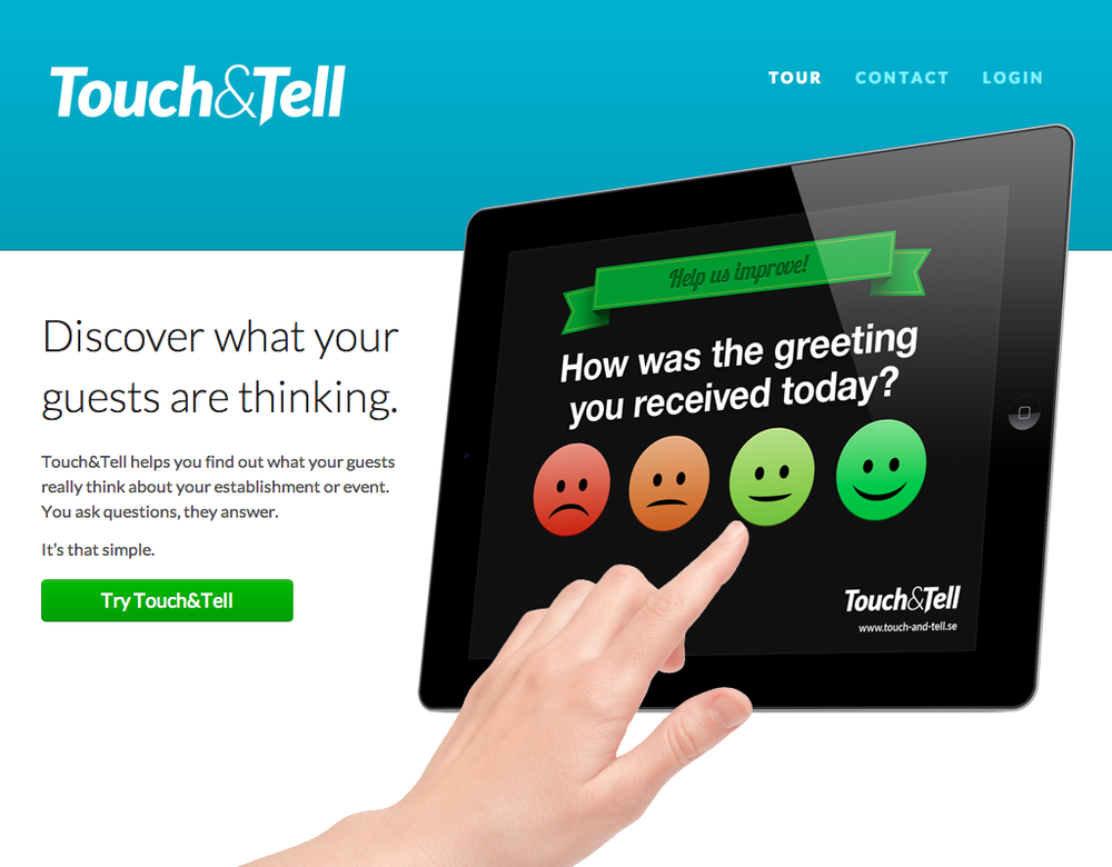 Touch&Tell website