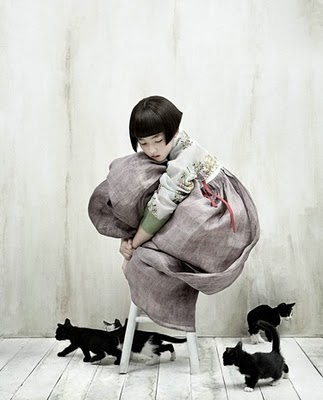 grrlandog :     Kim Kyung Soo, shot for Korean Vogue.
