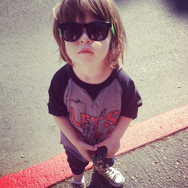 My little dude - @blaugie- #webstagram