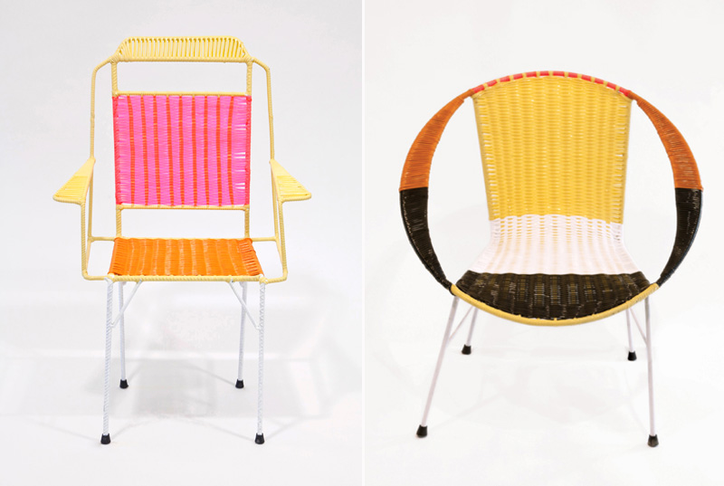 Marni chairs for a cause. Read more at honestly…wtf.