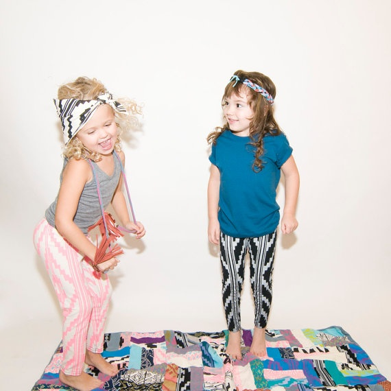 Awesome printed leggings for kids! I'm buying these tonight.