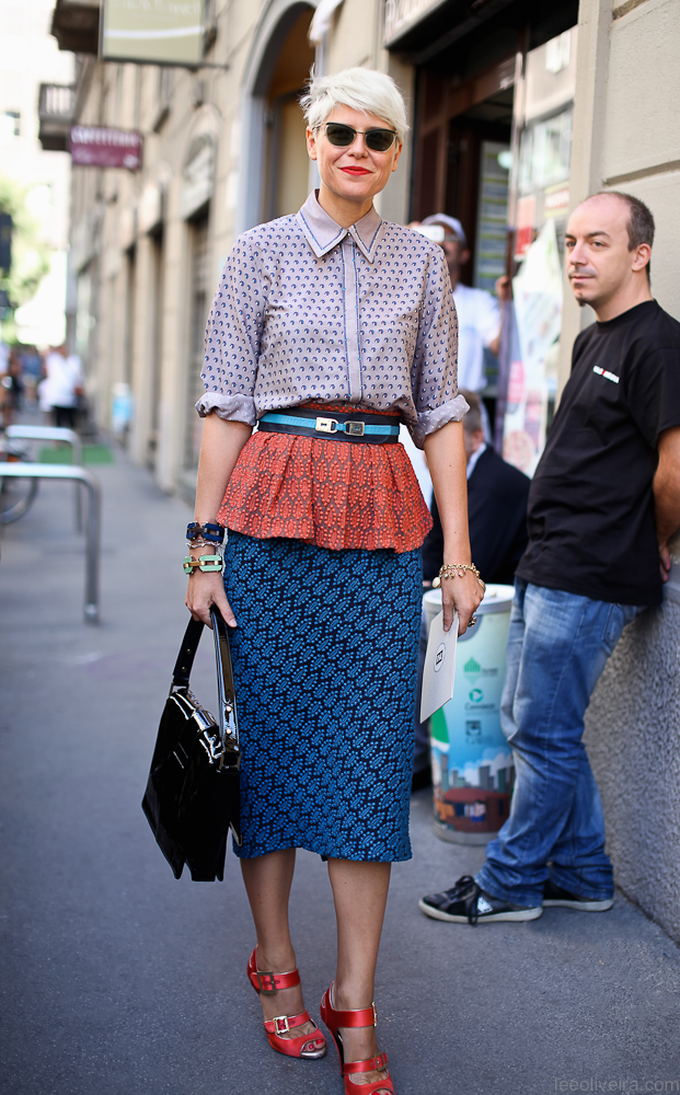 One of my all time favorite looks. leeoliveirass: Elisa Nalin at Milan Fashion Week via leeoliveira.com