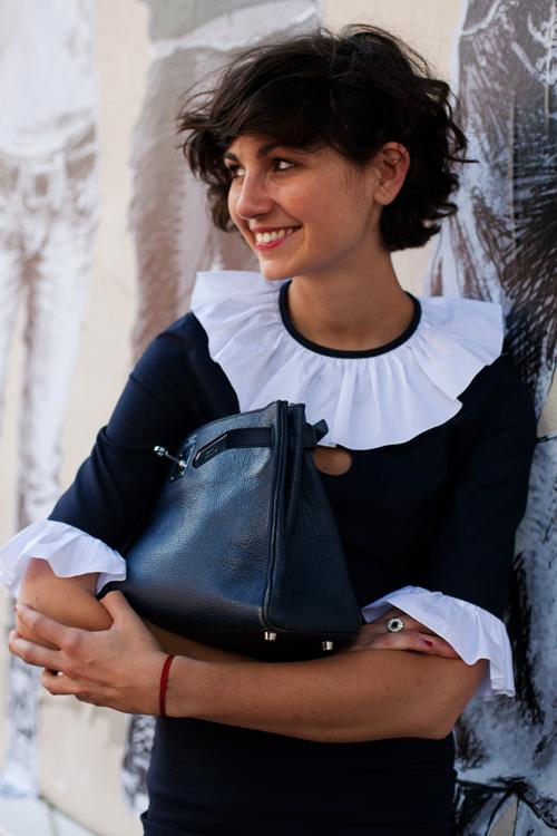 Eva Fontanelli . Love her style.