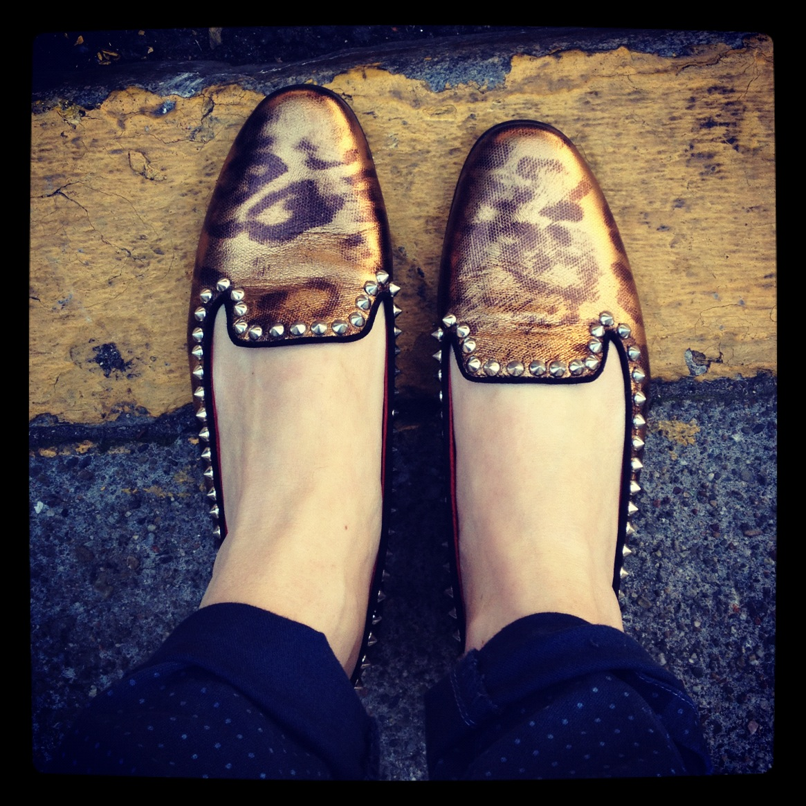 Baby be mine.  Golden Goose  studded beauties.