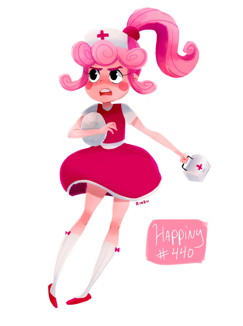 Happiny Gijinka