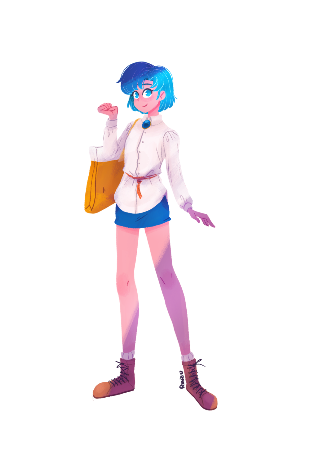 Casual Sailor Mercury