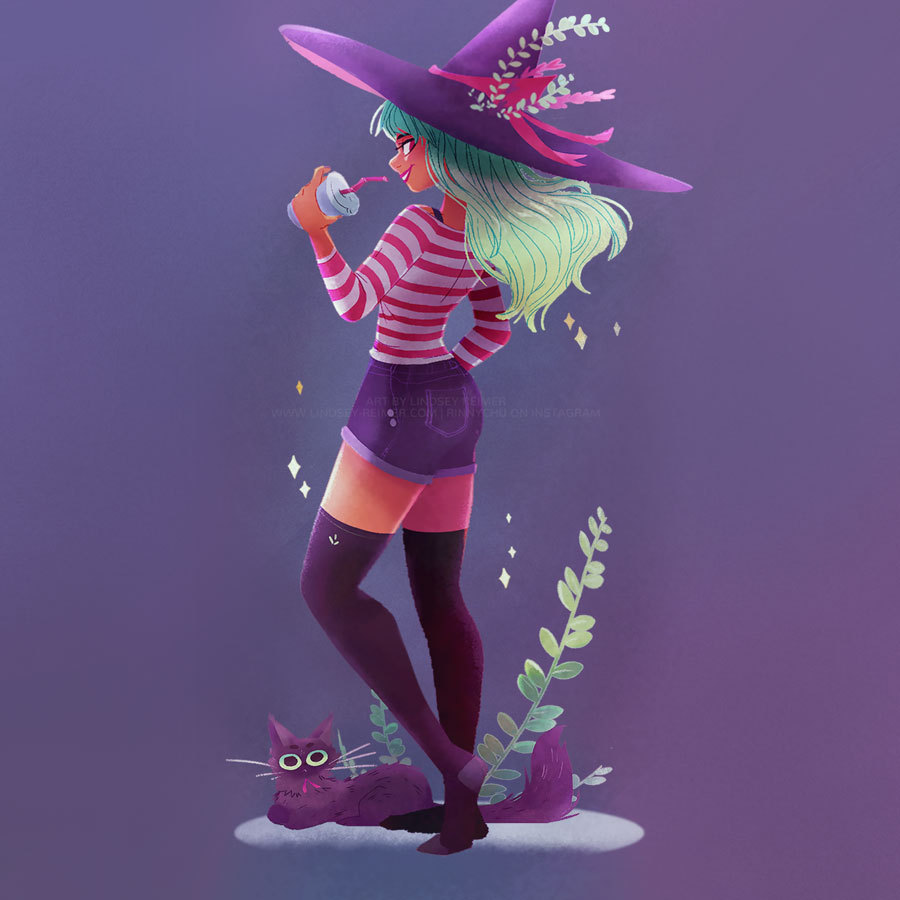 Copy of Purple Witch