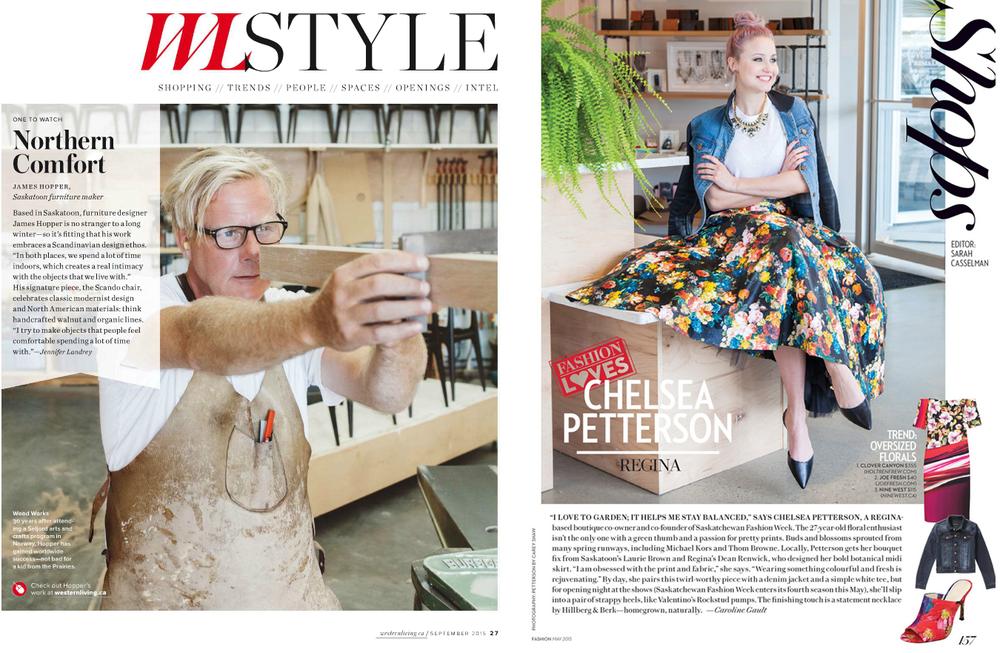 Western Living / Fashion Magazine