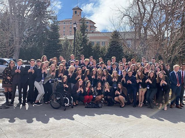 Thank you guys so much for a great weekend at state!!! Congrats to everyone who placed!